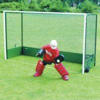 Harrod Folding Outdoor Steel Wheelaway Hockey Goals (HOC030)
