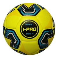 iPro Nova Football (Yellow) High Performance Grained Surface. Soft Feel (Sizes 3,4,5)
