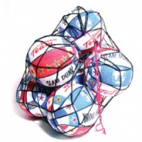 Net of 8,  Basketballs Size 7 Various Styles & Colours (Special Price)
