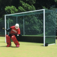 Harrod Premier Steel Hockey Goals (Wood backboard) (HOC016)
