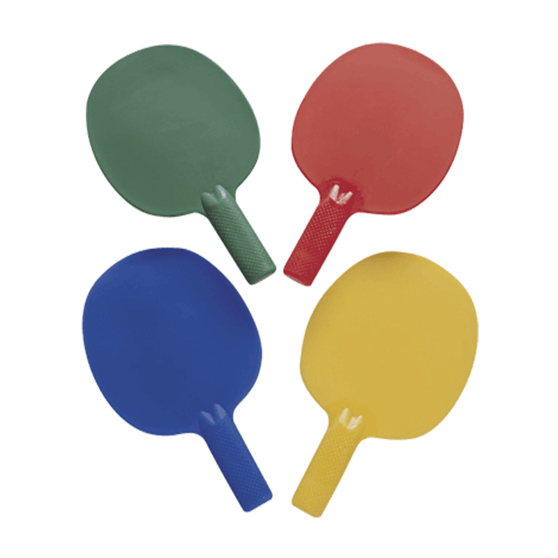 Plastic Table Tennis Bats (Pack x 4)